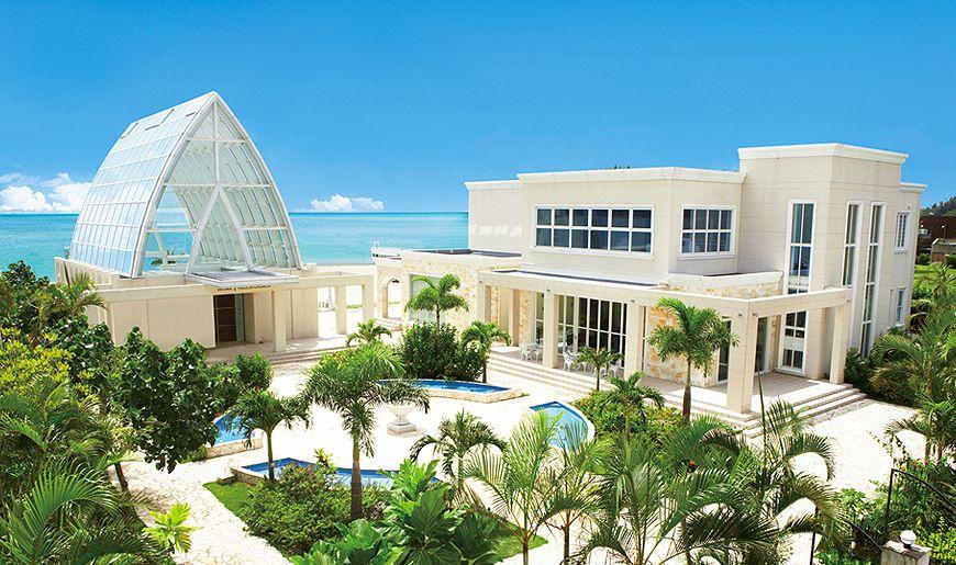 Okinawa resort wedding churches and chapels pinterest for Design hotel okinawa