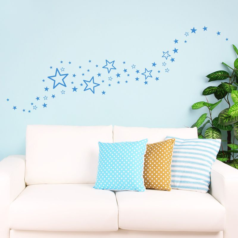 un kit de 60 stickers toiles assorties pleines et. Black Bedroom Furniture Sets. Home Design Ideas