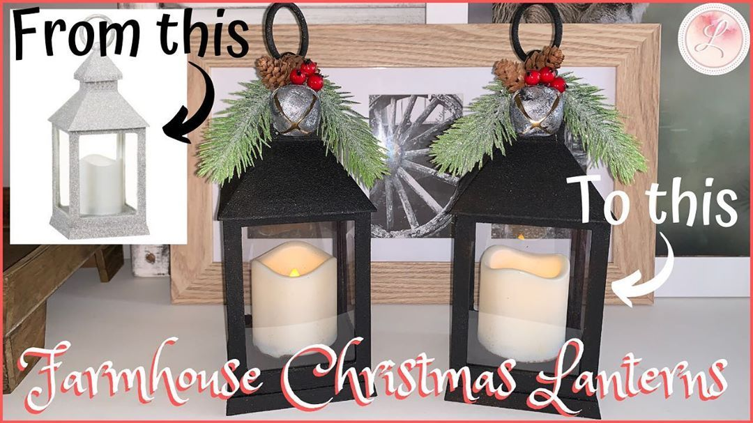 My first Christmas diy for this year and its a collaboration with 5 other lovely youtubers from around the globe Watch me transformation these cheap glittery Kmart lanter...