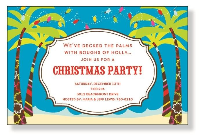 jolly palms invitations by inviting company invitation box