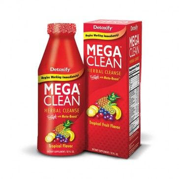 Mega Clean Herbal Cleanse Love This The Go To Cleanse Herbal Cleanse Clean Detox