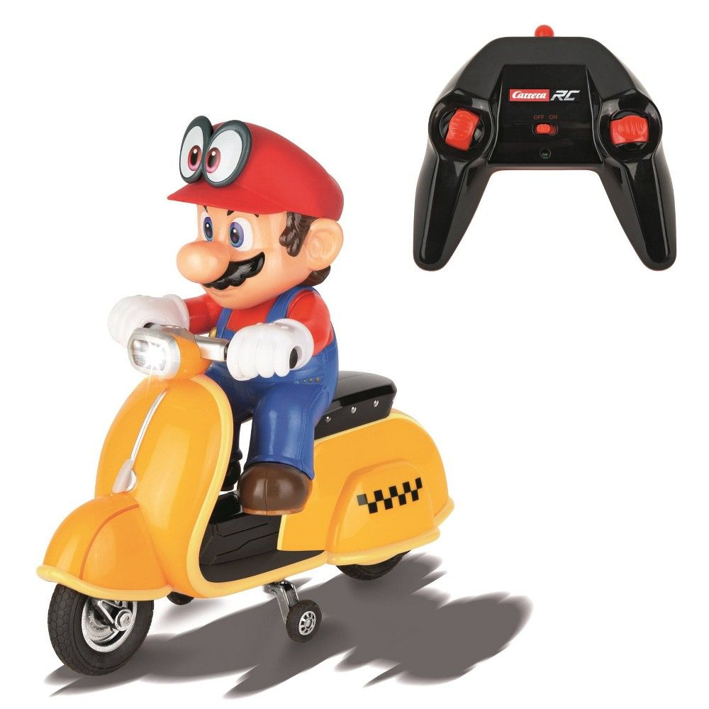 Carrera Rc Super Mario Odyssey Scooter Mario In 2021 Mario Toys Super Mario Toys Mario