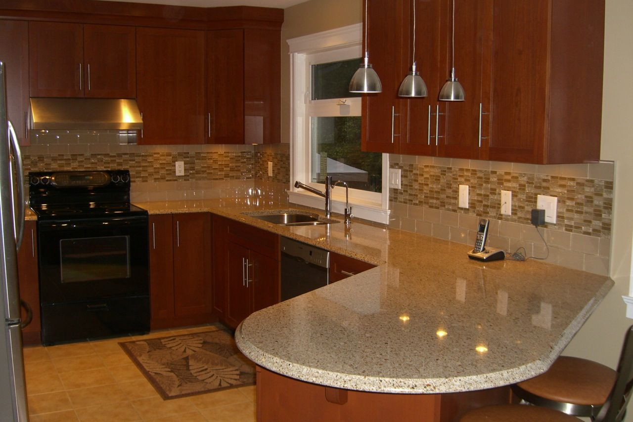 image of kitchen backsplash ideas with granite countertops hanged kitchen backsplash design - Kitchen Backsplash Design Ideas