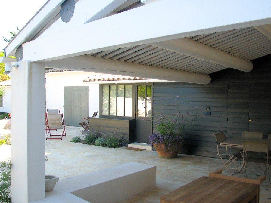 Maitre d 39 oeuvre et architecture ile de r charente - Villa charente maritime avec piscine ...