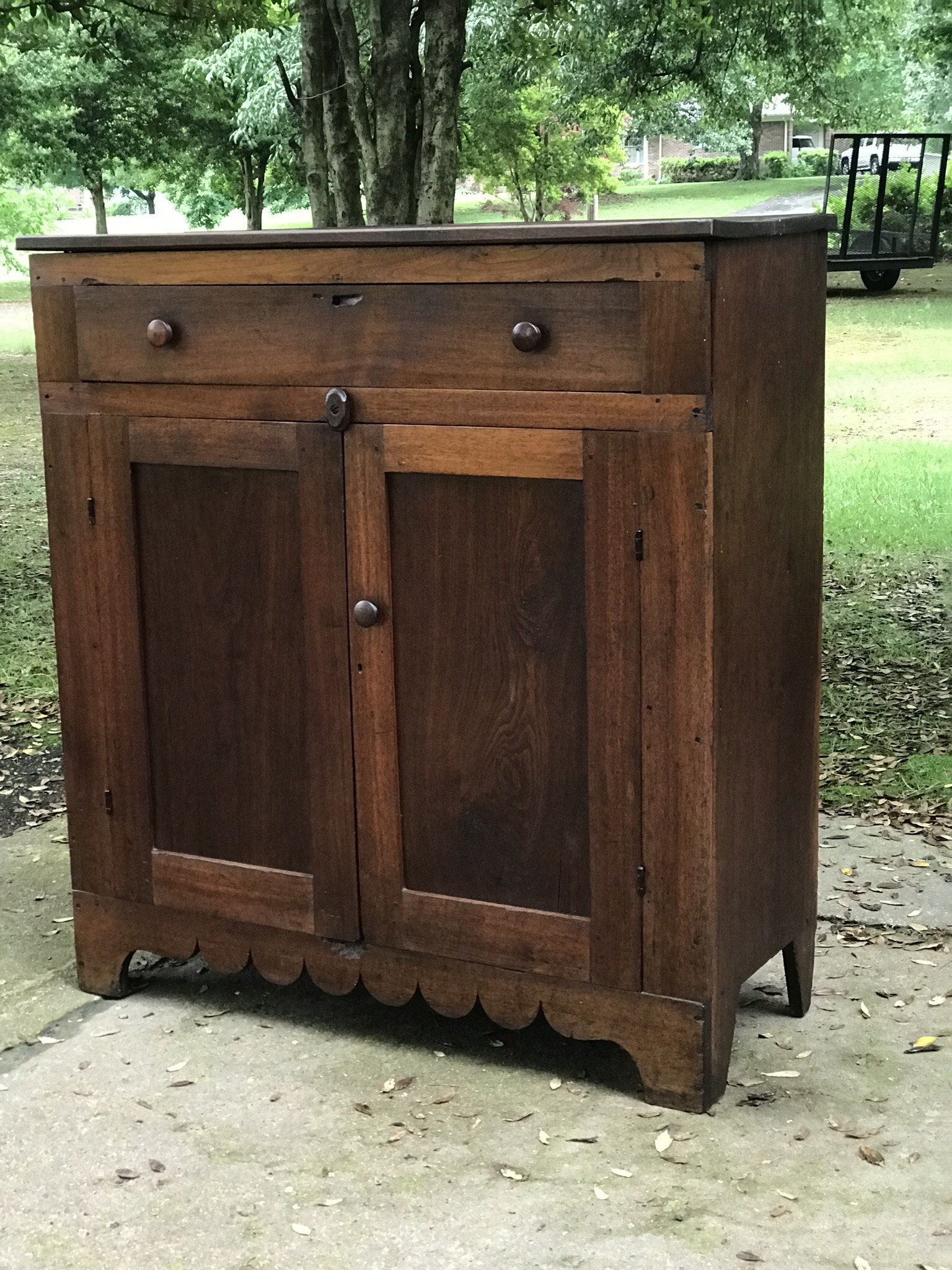 Excited To Share This Item From My Etsy Shop Beautiful Antique Cherry Jelly Cupboard Tennesse Primitive Cabinets Primitive Decorating Country Jelly Cupboard