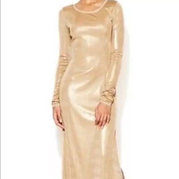 Bcbg Gold Gown
