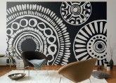 Große Muster und sanfte Farben: Tapeten 2014. #home #homestory #interior #wallpaper #design #trend