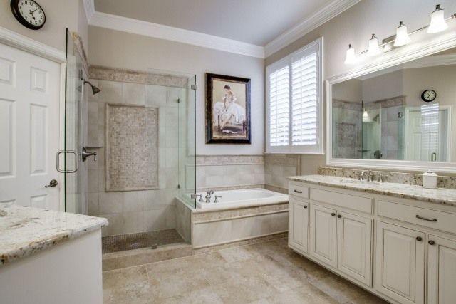 Master Bath Renovation In Frisco DFW Improved Home Remodeling - Bathroom remodel dfw