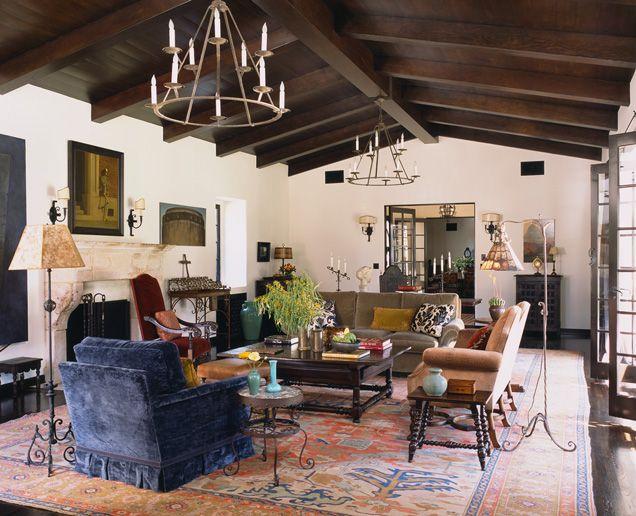 interiors - spanish hacienda | madeline stuart | spanish house