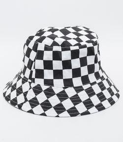 1c1abd4ee3 Chapéu Bucket Hat Quadriculado | Products em 2019 | Chapéu bucket ...