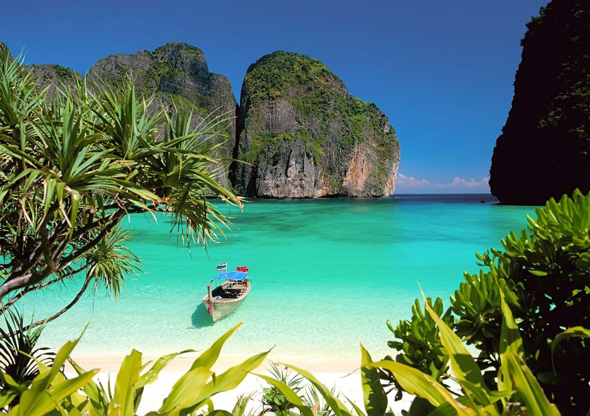 Fondo Pantalla Paisaje Playa Tailandia