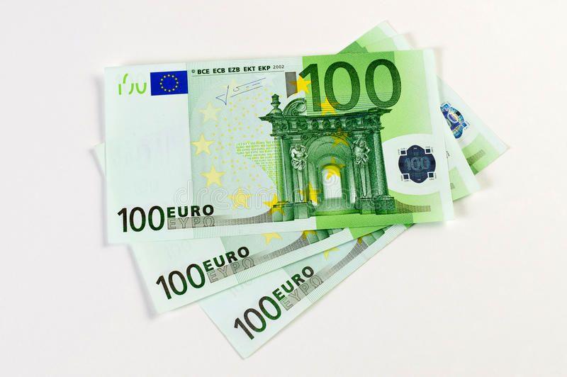 300 Euro Banknotes