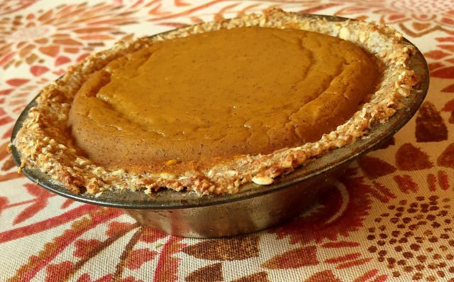Single Serve Pumpkin Pie
