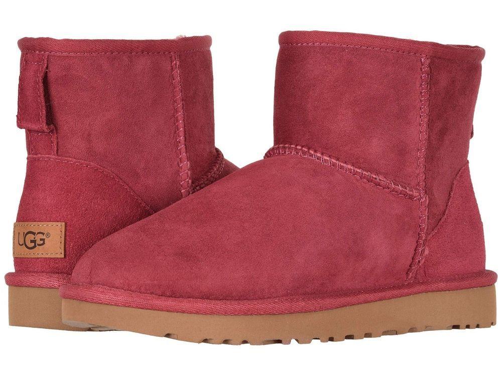 25756b408f2 Women's Shoes UGG Classic Mini II Boots 1016222 GARNET 5 6 7 8 9 10 ...