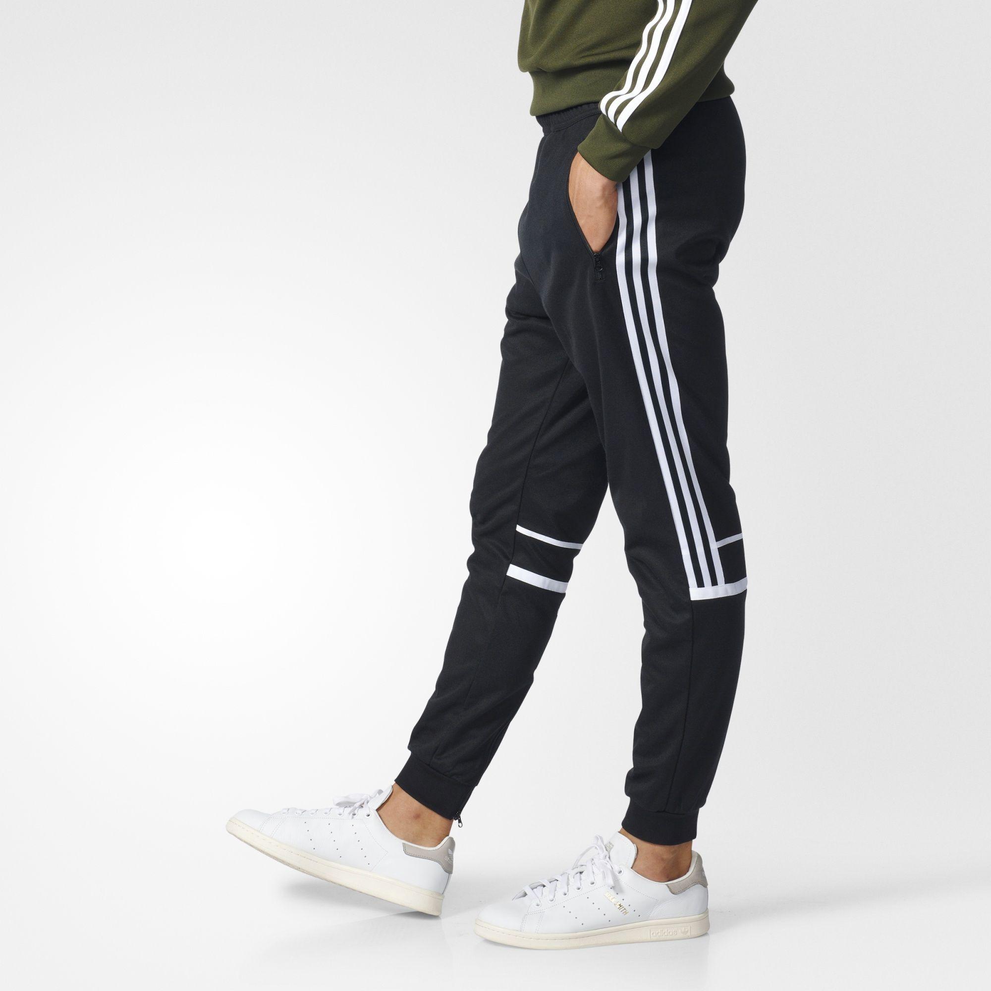 adidas schwarz beckenbauer jogginghose