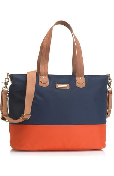 Storksak Colorblock Diaper Bag available at #Nordstrom