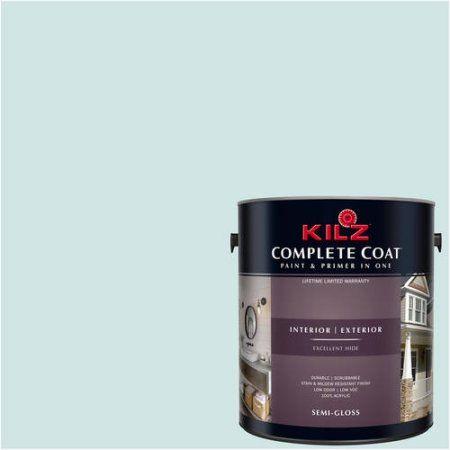 Kilz Complete Coat Interior/Exterior Paint & Primer in One #RG180-01 ...