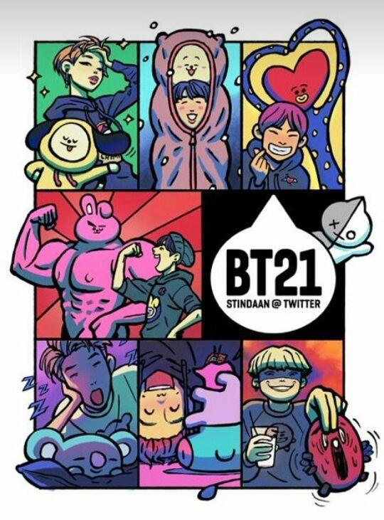 Meme su BTS e Got7