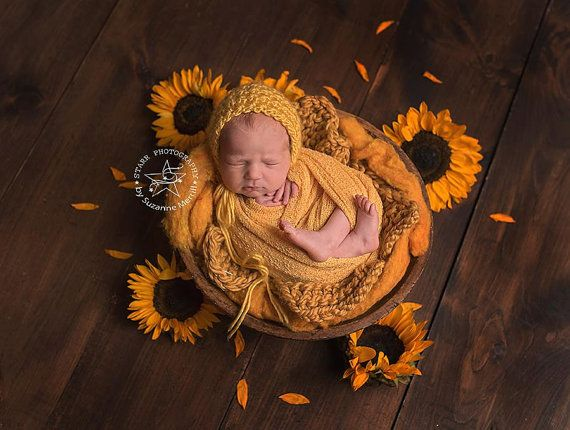 ThiCk Knit Bump Blanket,Autumn Color MIniblanket,Mustard Bump Blanket, Layer New Born