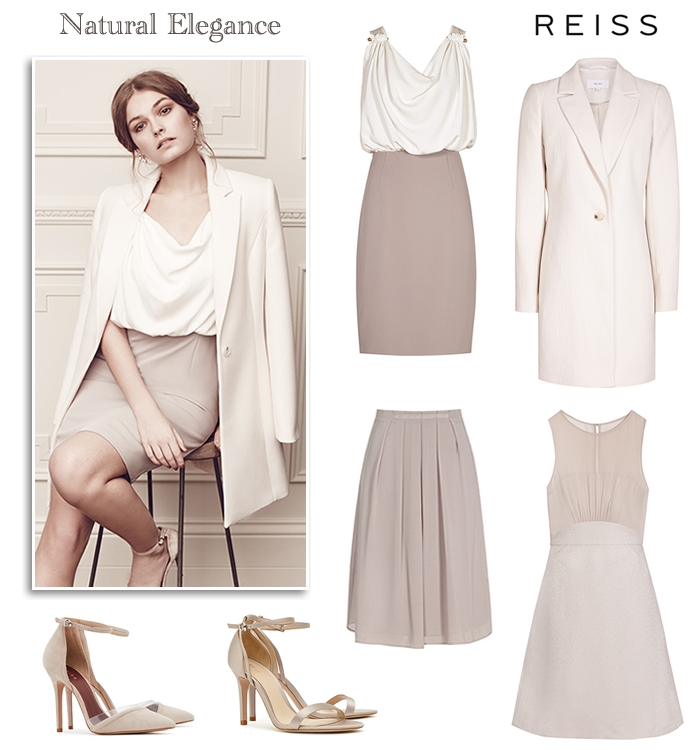 Reiss Mother Of The Bride Dress And Coat Modern Wedding Guest Dresses In Neutral Colours Champagne Cream Ivory Taupe Rose Pink Beige