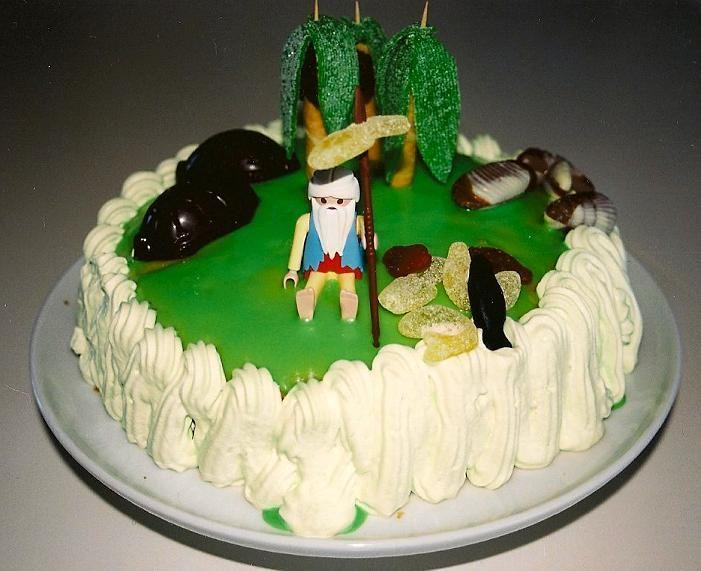 Resultado de imagen de robinson crusoe cake