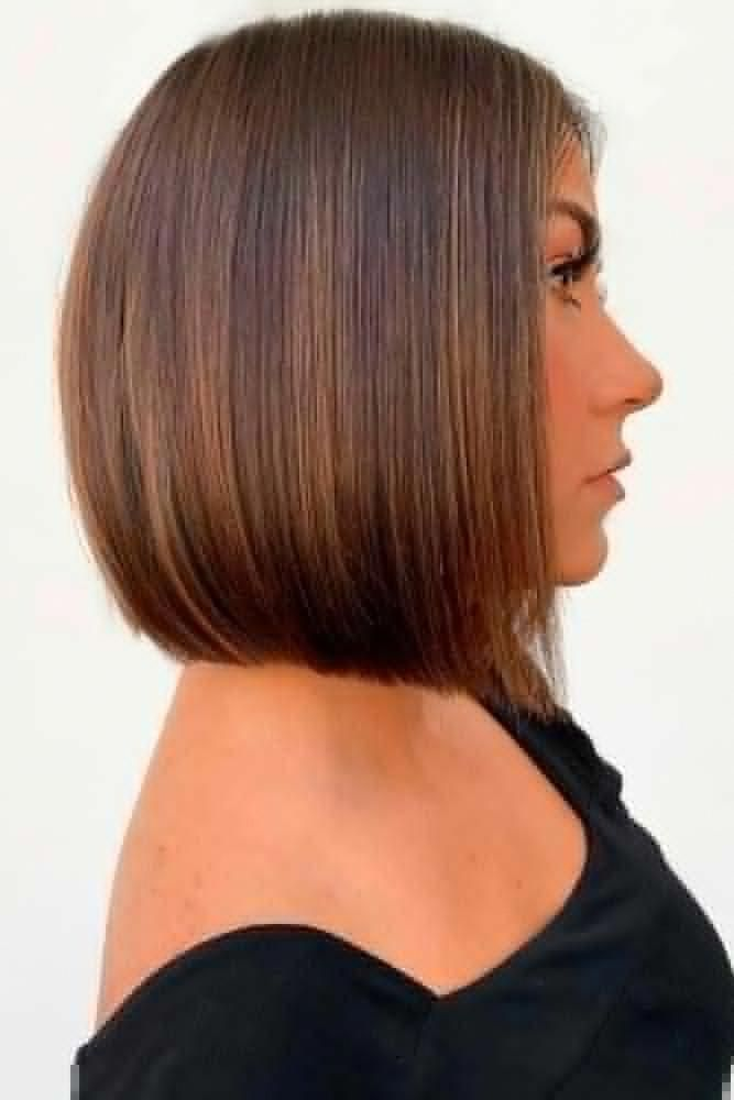 Sleek Blunt Bob #sleekhair #brownhair ★ Do you know how modern edgy bob haircuts can change your look for the better? Read this post and see our ideas to rock 2019 with a perfect cut! Long layered bobs with bangs, short blunt ideas, inverted and choppy cuts, and lots of inspo-pics are here! #glaminati #lifestyle #edgybobhaircuts #bobhaircutsforwomen #edgybob Sleek Blunt Bob #sleekhair #brownhair ★ Do you know how modern edgy bob haircuts can change your look for the better? Read this post an #edgybob