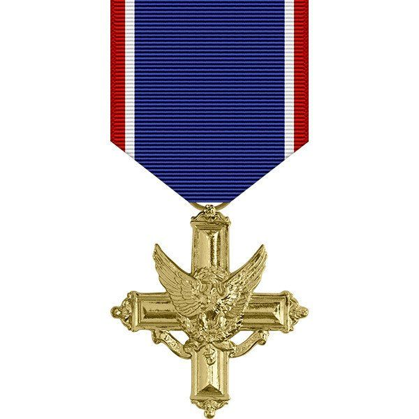 Army Distinguished Service Cross Anodized Medal   Anodized