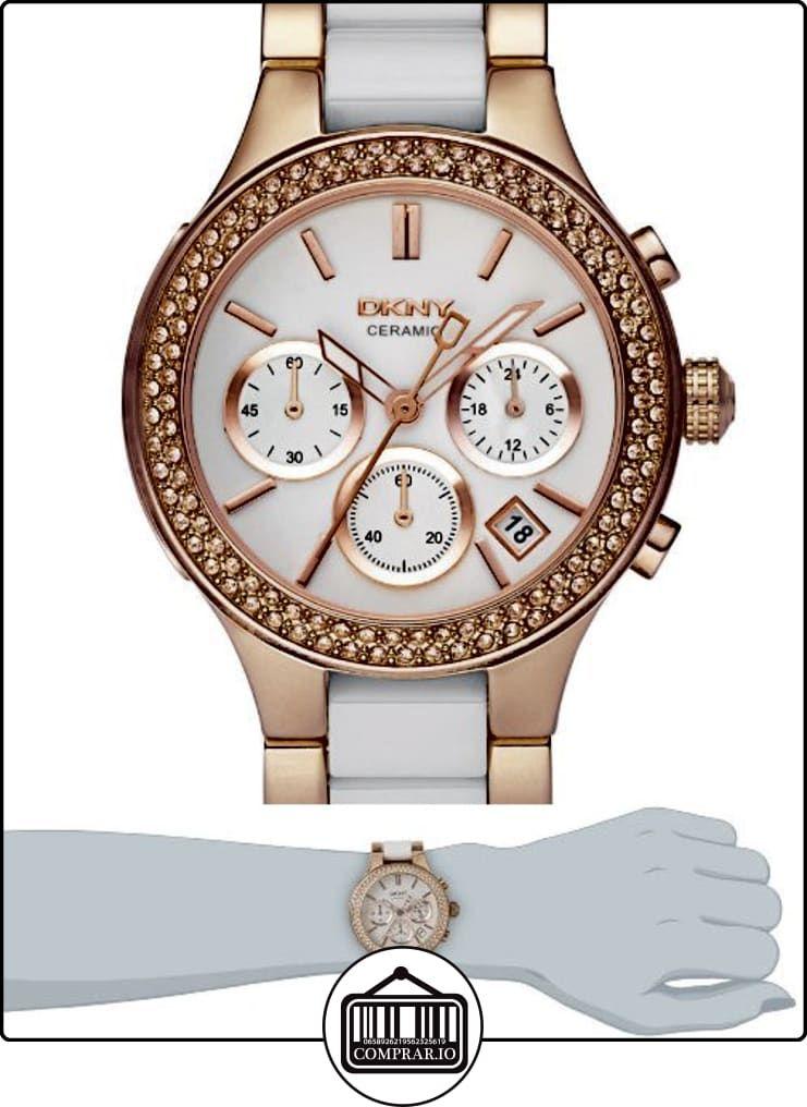 f9618237608f DKNY NY8183 - Reloj de cuarzo con correa de acero inoxidable para mujer