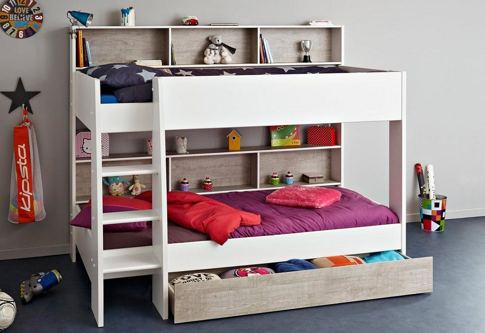 Etagenbett Versetzt : Parisot etagenbett für kinder und kinderzimmer