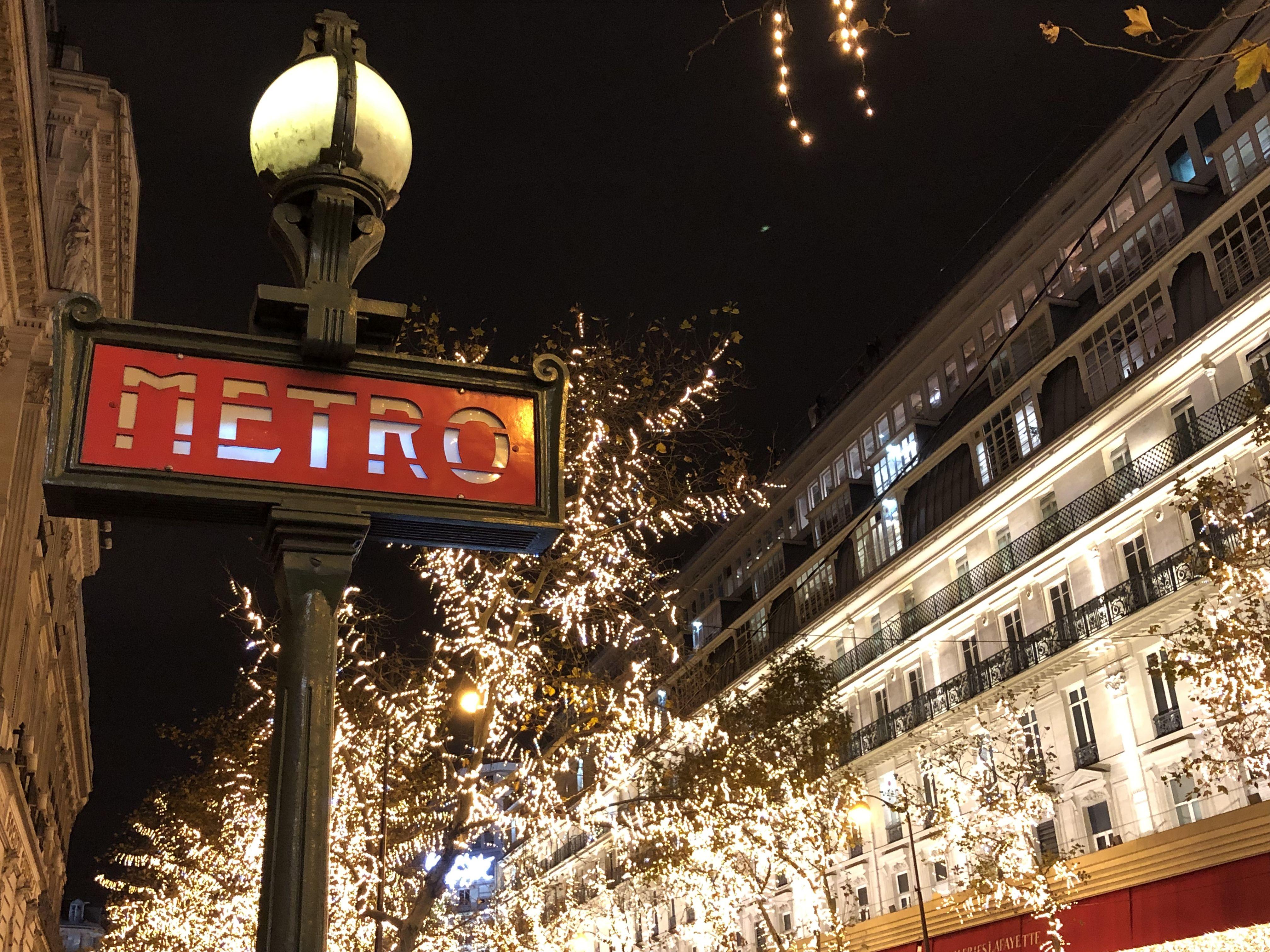 Paris by Christmas night in 2020 Christmas in paris