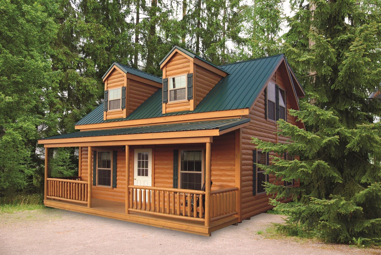 The lanier is a beautiful cabin that you can make your for Cottage modulare suocera