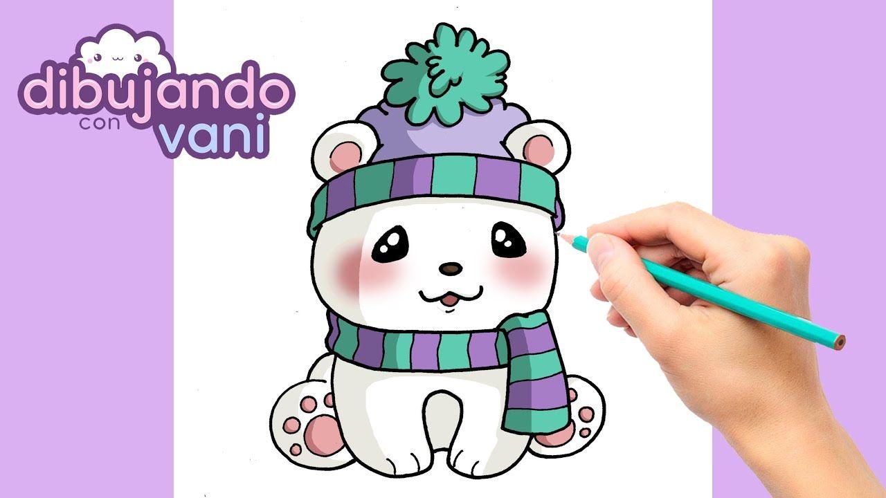 Como Dibujar Un Oso Polar Kawaii Dibujos Para Dibujar Imagenes Facil Como Dibujar Un Oso Dibujos Kawaii Kawaii