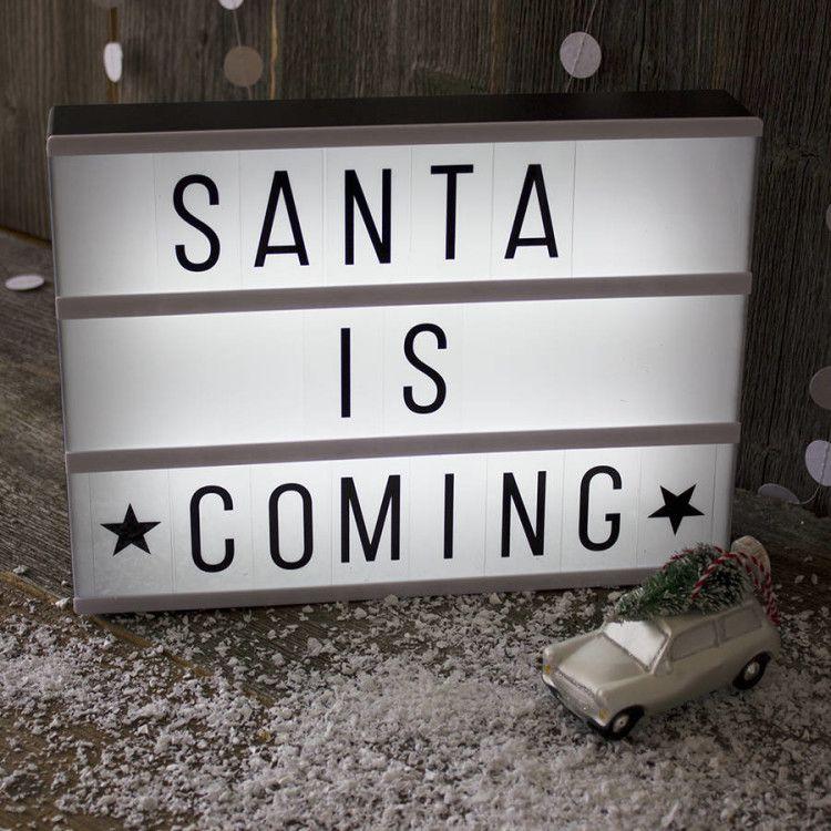 Monochrome lightbox weihnachtliche geschenkideen - Lightbox weihnachten ...
