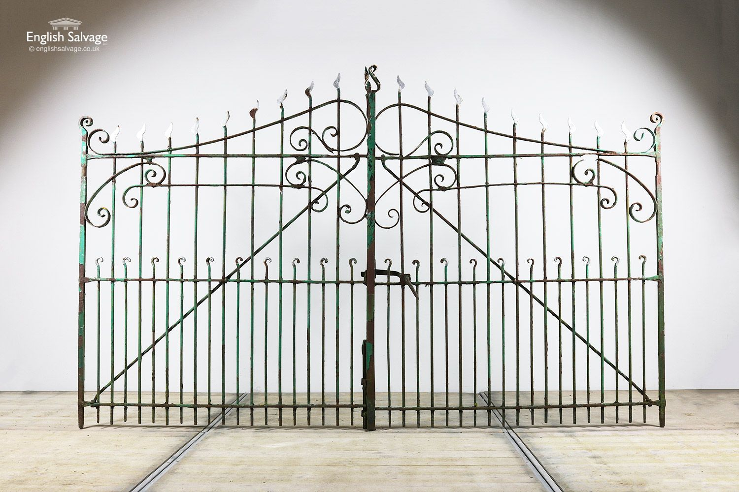 Pair Of Reclaimed Ornate Double Gates Architectural Salvage