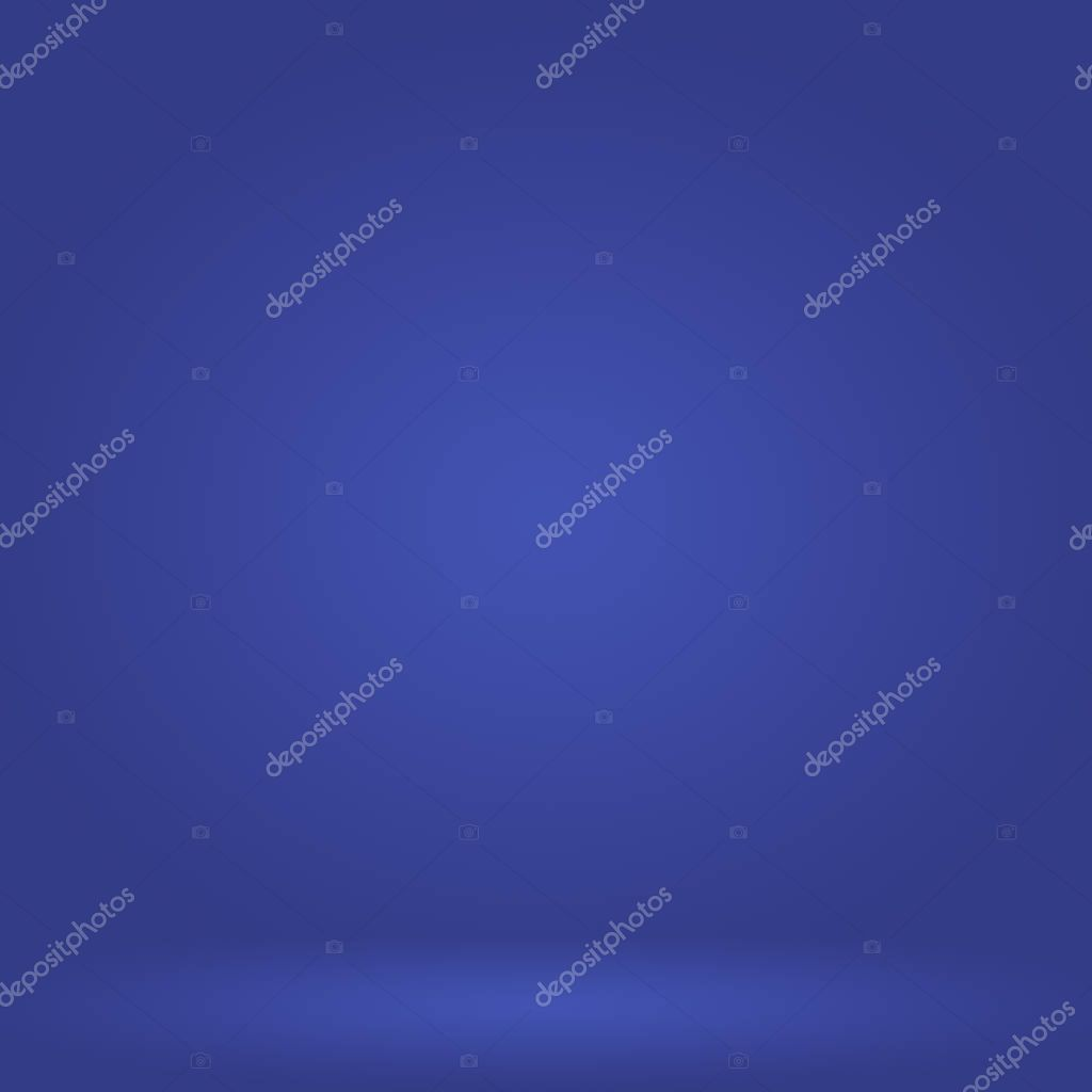 Abstract Luxury Gradient Blue Background Smooth Dark Blue With