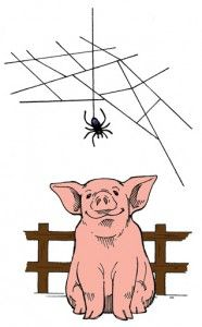 Image result for charlottes web clipart