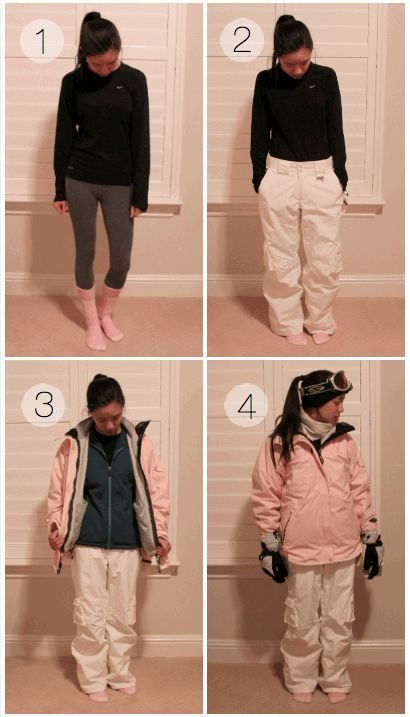 bb76cda71 Skiing Snowboarding Outfit Ideas - What to Wear to the slopes in ...