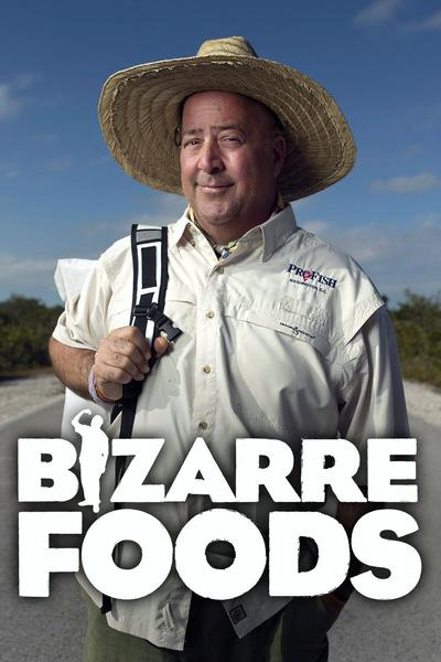 Watch Bizarre Foods With Andrew Zimmern Streaming Online