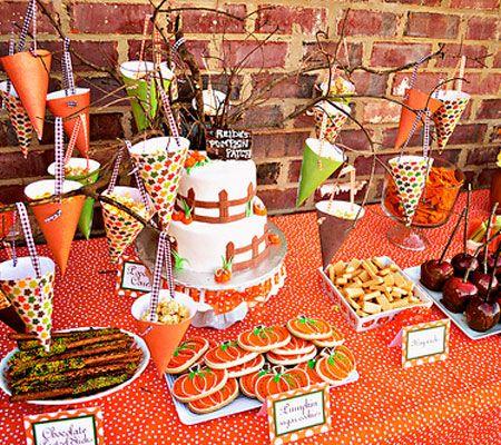 Shopdisney Pumpkin Patch Party Pumpkin Patch Birthday Party Birthday Halloween Party