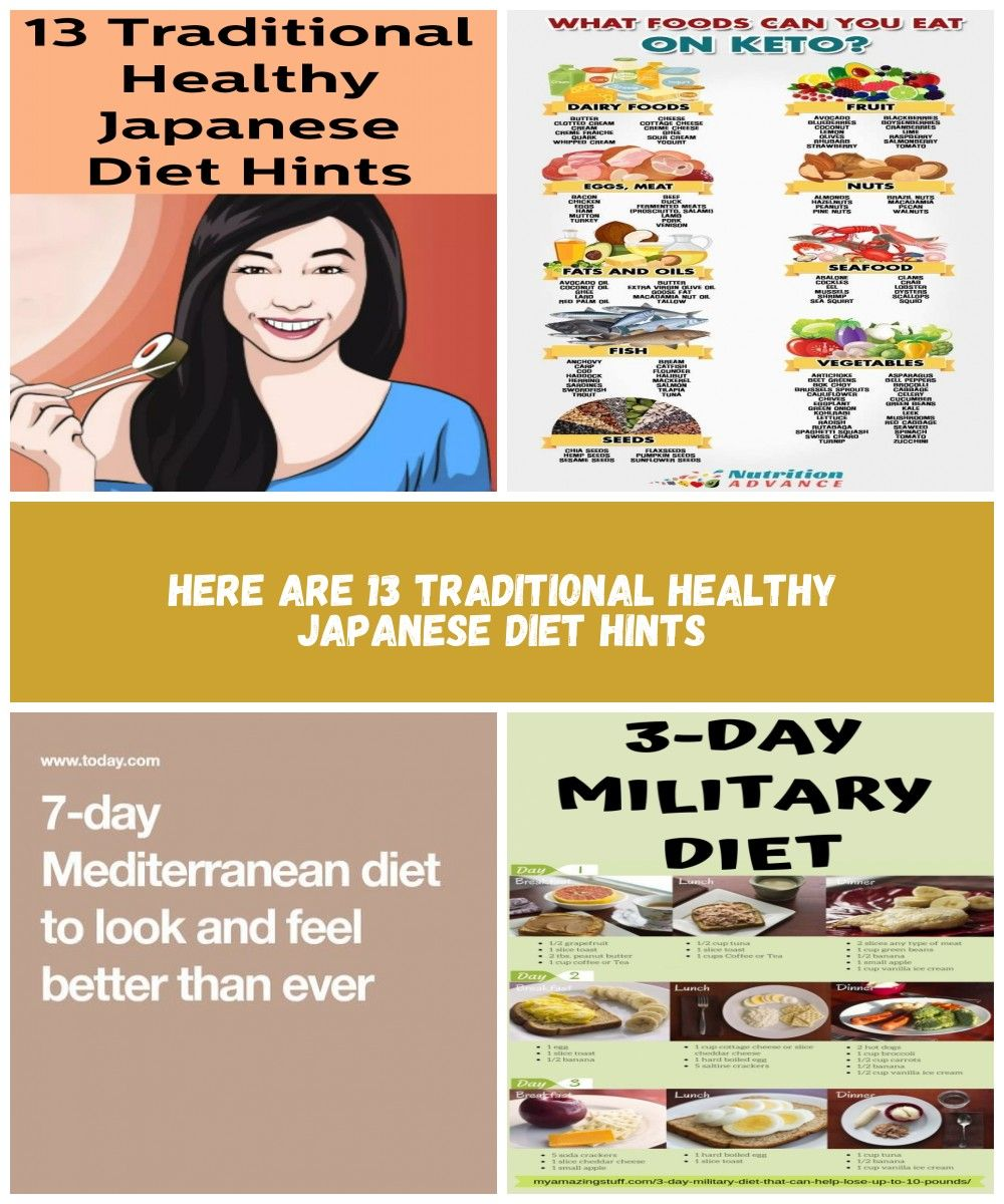 Here Are 13 Traditional Healthy Japanese Diet Hints Healthy Diet Plan Here Are 13 Traditional Healthy Japanese Diet Hints Japanese Diet 3 Day Diet Healthy Diet