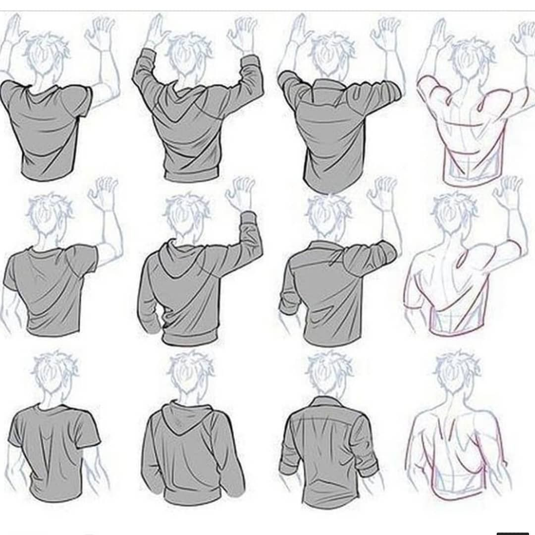 Hoodie Tutorial Art Reference Poses Drawing Reference Drawings