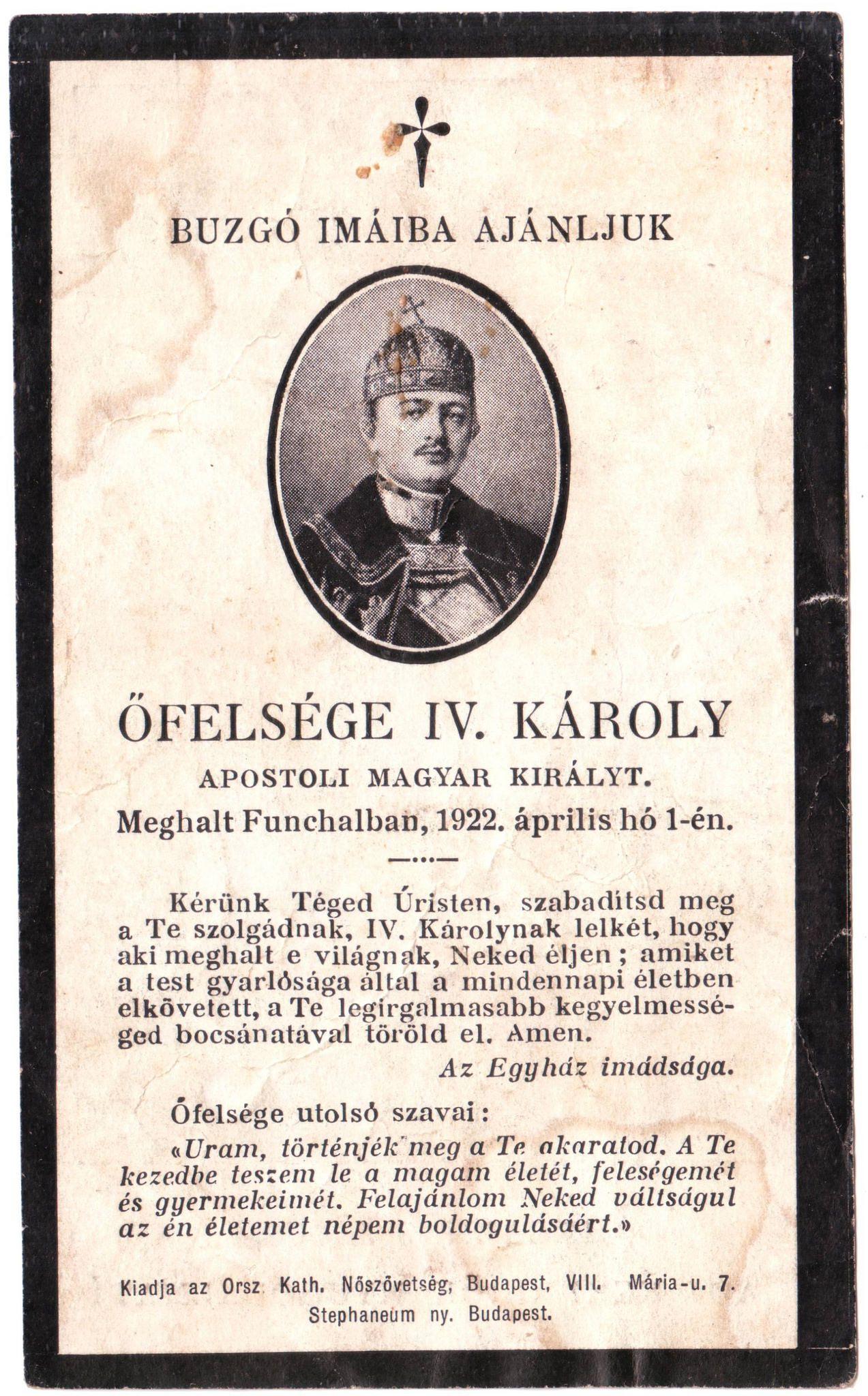 Kaiser Karl I Von Osterreich Austrian Emperor Charles Karl Life History