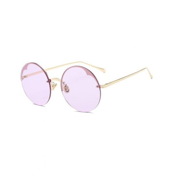 7d9e06f165 Round Semi-rimless Sunglasses Radiant (€5