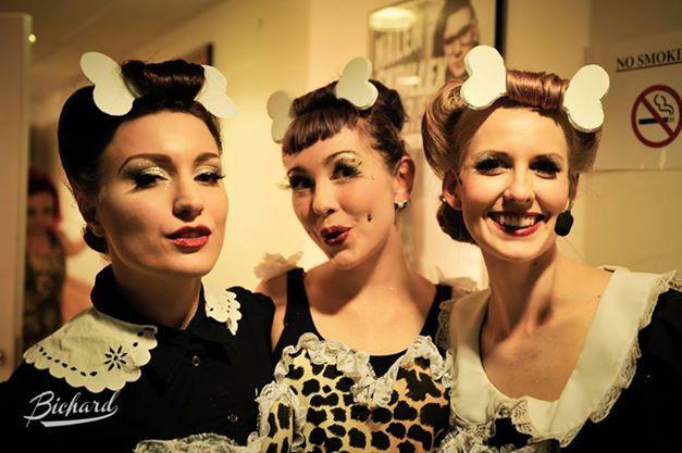 The Vaudevillans at Fräulein Frauke Presents Jungle Fever Copyright John-Paul Bichard