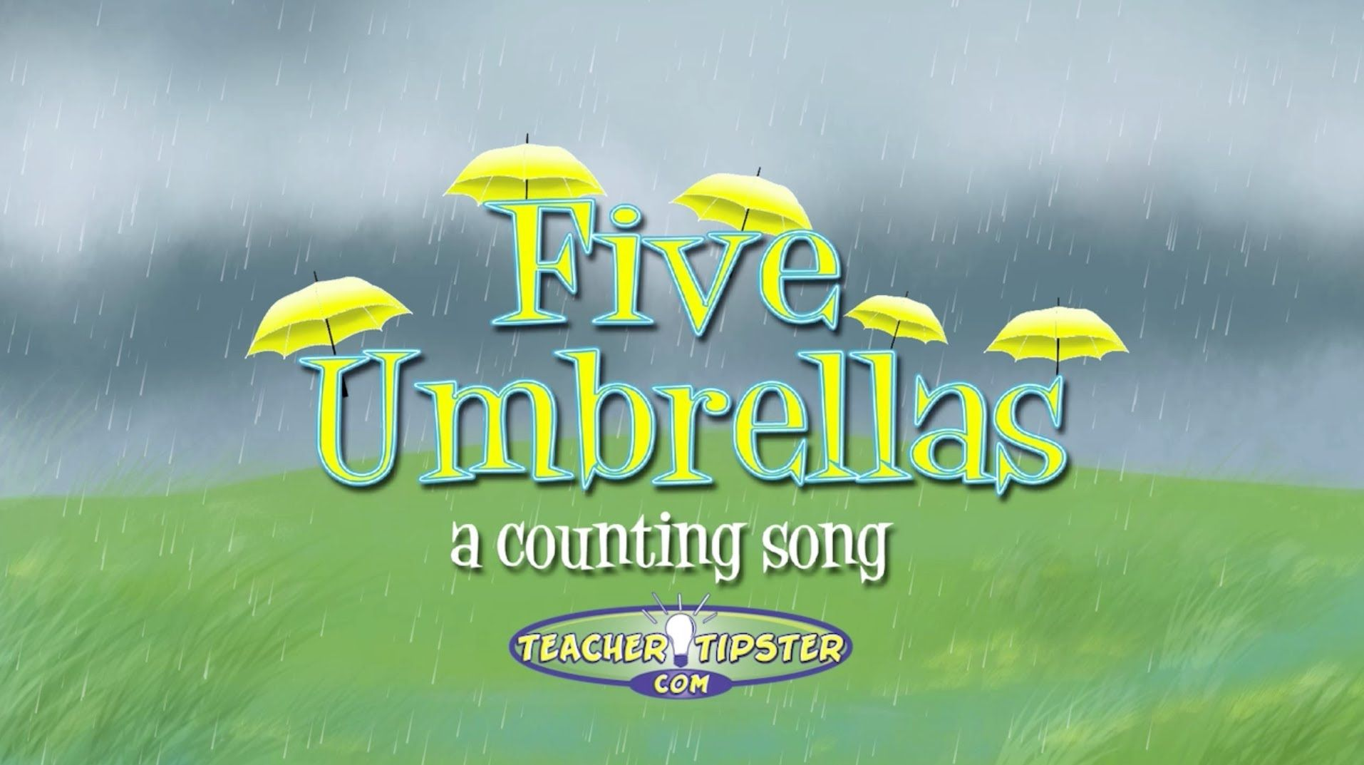 Rainy Day Math Counting Song Teacher Tipster