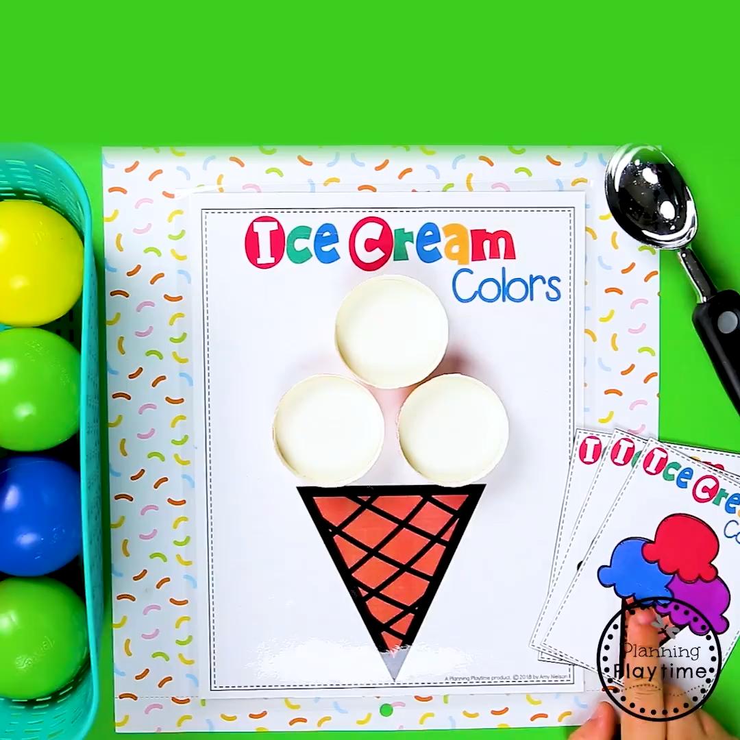 Preschool Colors Activities Preschoolers