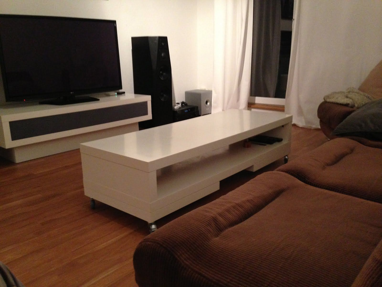IKEA Hackers Lack TV Unit again Coffee Table