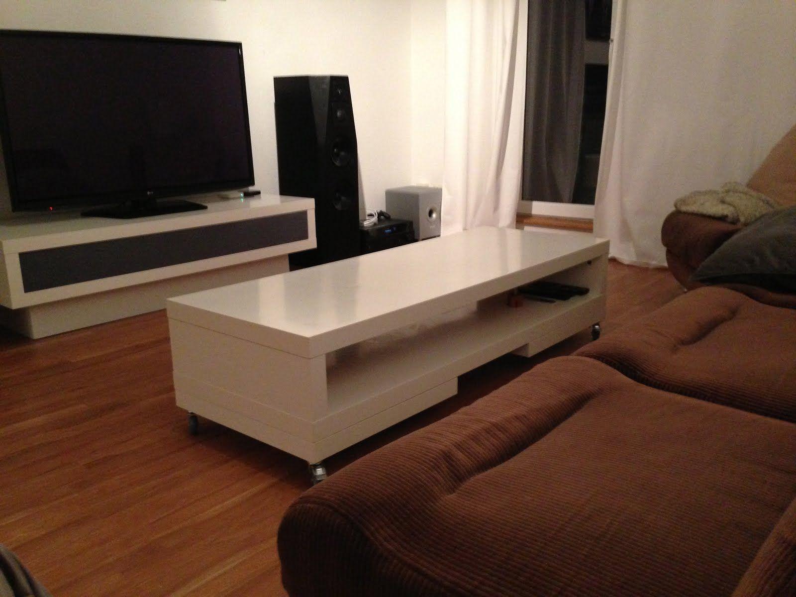 Lack Tv Unit Again Coffee Table Ikea Hacks Table