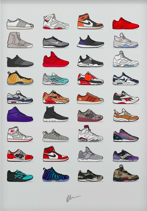 413c1d9be0ea Assorted Sneaker - 2015 Edition in 2019