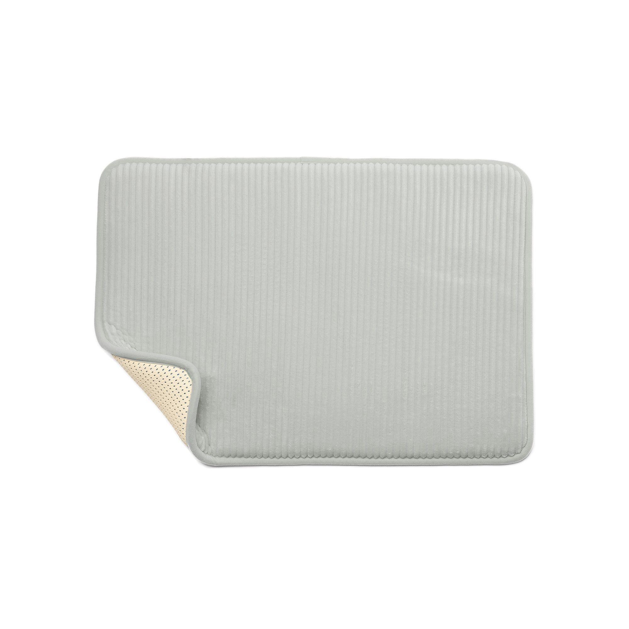 Sunham Blucore Quick Dry Foam Bath Rug 17 X 24 Orange